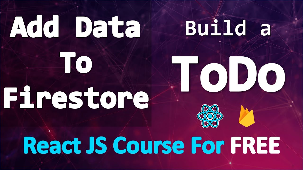 Build a TODO app with React and Firebase • momentJS & random color & add data to firestore • PART 17
