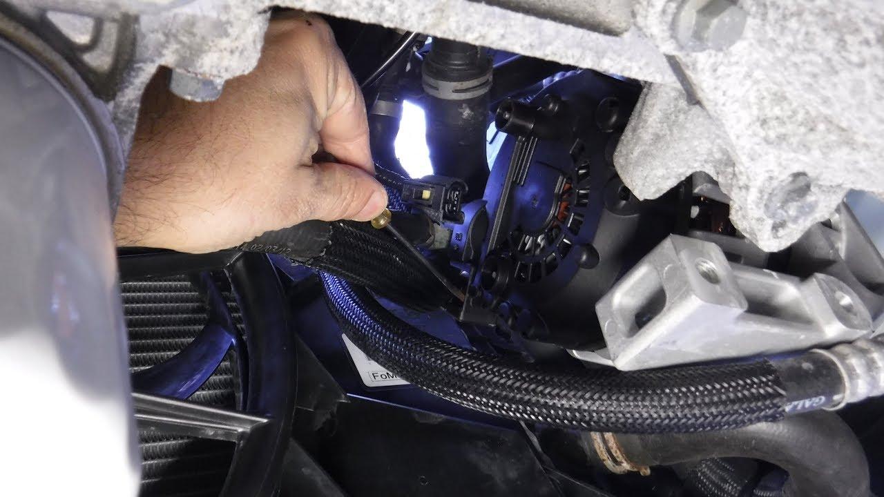 2012 ford focus alternator removal [ 1280 x 720 Pixel ]