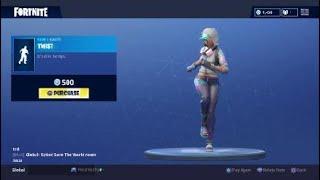 Fortnite: Battle Royale - New Emote - Twist (Teknique Skin)