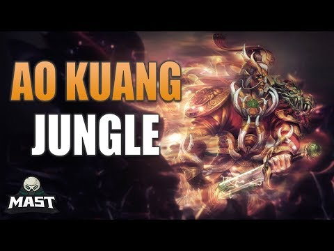 SMITE Ranked Conquest - Ao Kuang Jungle   Feasting On Their ELO!