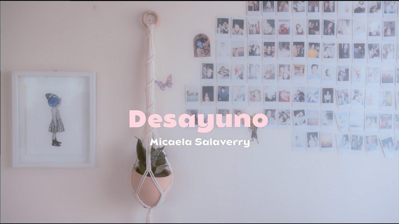 Micaela Salaverry - Desayuno (Lyric Video)
