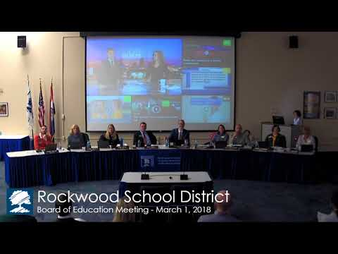 BOE Meeting: March 1, 2018