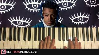 HOW TO PLAY - XXXTENTACION - before I close my eyes (Piano Tutorial Lesson)