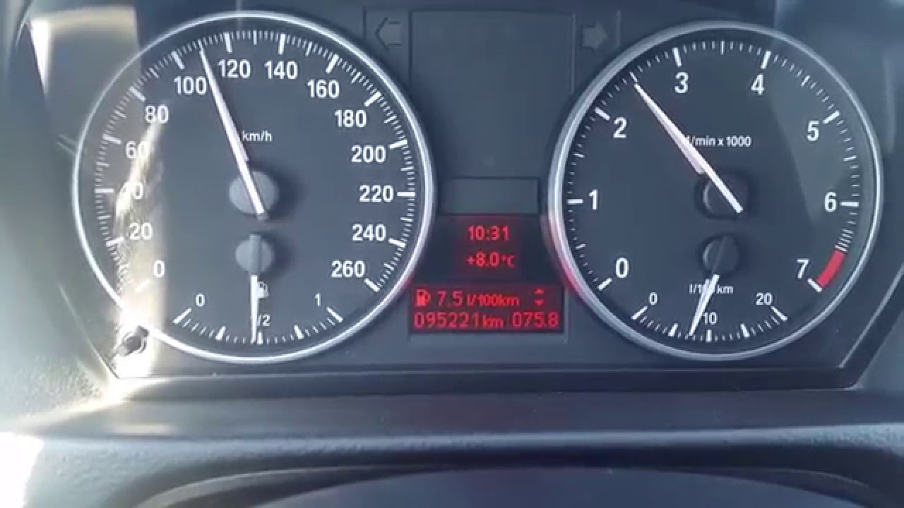 BMW 318i E90 LCI Fuel Consumption Test 143Hp  highway   YouTube