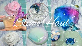 [西九Slime Haul🚀]疑似中伏🤦🏻♀️但還是好愛啦💓香港史萊姆開箱‼️🍓