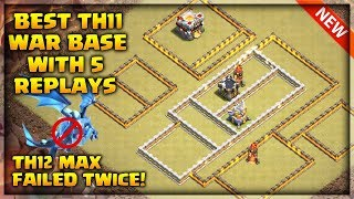 Best Th11 War Base 2019 with 5 Replays, Th12 Failed Twice ,Anti Electro Drag ,Anti Bowler | CoC