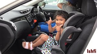 Funny Baby Ishfi's Day Out with Daddy