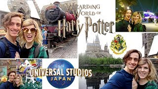 WE WENT TO HARRY POTTER WORLD!!! | UNIVERSAL STUDIOS JAPAN