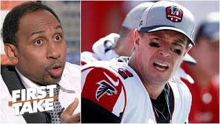 Matt Ryan faces more pressure than Cam Newton this season – Stephen A. | First Take