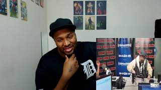 Chris Webby rapping on Sway in the morning 2018 REACTION