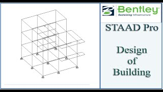 STAAD Pro Tutorial For Beginners [Episode 23]: Design Of Building
