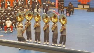 VUU Tuba Section. Welcome to the Thunderdome