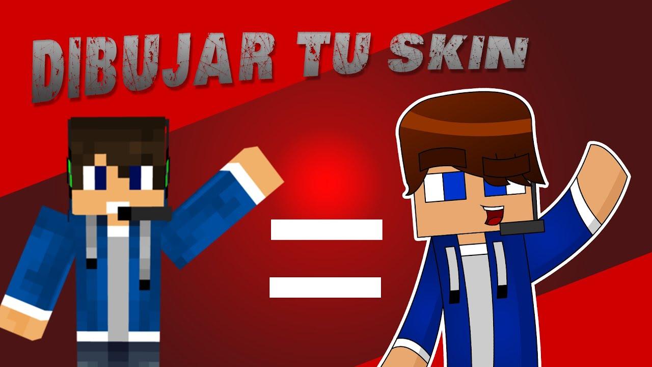 Tutorial Como Dibujar tu Skin de Minecraft  YouTube