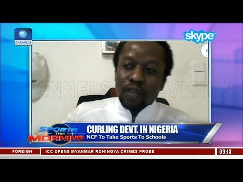 Curling Development In Nigeria | Sports This Morning |