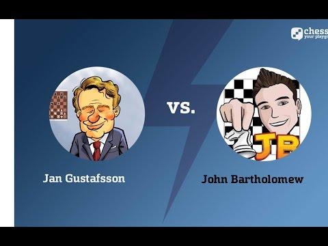 Banter Blitz: Jan Gustafsson vs. John Bartholomew