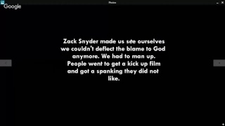 The DCEU & Snyder