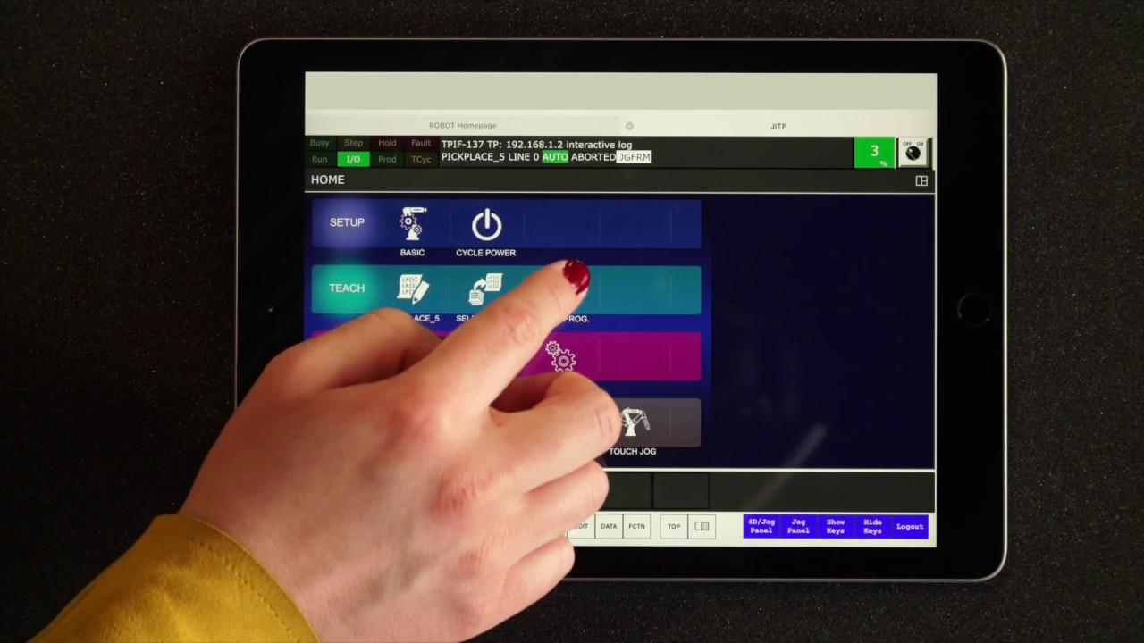 FANUC Collaborative Robots – Programming in a few minutes