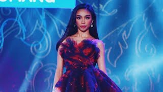 MAYMAY ENTRATA WALKS FOR MISS. U CATRIONA GRAY ❤️