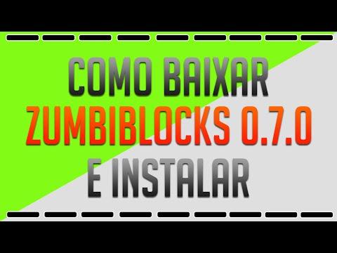 Como baixar zumbi blocks 0.7.0 (ATUALIZADO) + Como Jogar Online