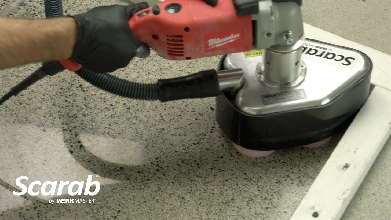 Floor & Countertop Grinding and Polishing Machine | Scarab
