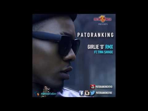 Patoranking    Girlie O Remix Ft  Tiwa Savage OFFICIAL AUDIO 2014