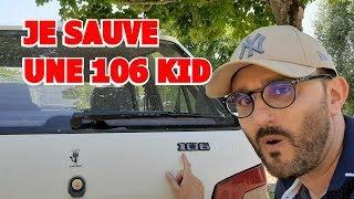JE SAUVE UNE 106 KID DE LA CASSE !!! ON LA TRANSFORME ??