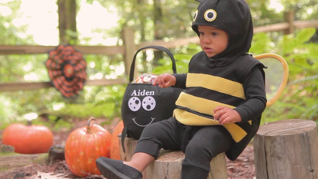 playful baby halloween costumes pottery barn kids youtube - Halloween Barn