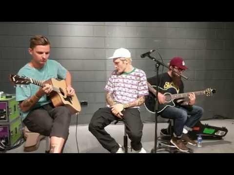 In Bloom - Neck Deep HMV Acoustic Set Liverpool - 22/08/17