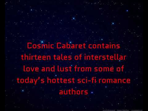 Cosmic Cabaret Book Trailer-Teaser
