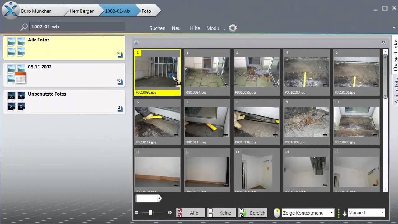 mit xpert photo eine fotodokumentationen schnell und professionell aus vielen fotos erstellen. Black Bedroom Furniture Sets. Home Design Ideas