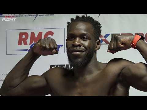 100%FIGHT 40 | Pesée officielle