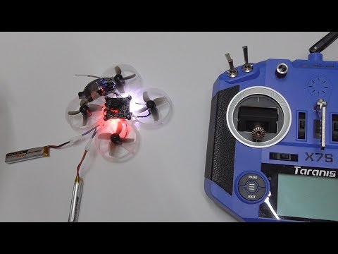 Happymodel Mobula7 - Brushless, Micro Whoop Drone (Binding, Switches, Betaflight)