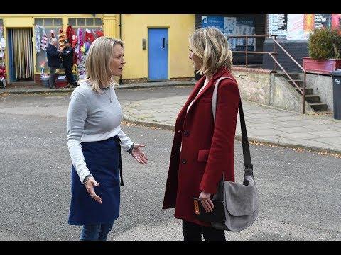 EastEnders - Kathy tells Fi that Willmott-Brown Raped her (5th December 2017)