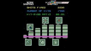 Galaga '90 (1989, PC-Engine) - 1 of 8: Blue Dimension 1 [720p]