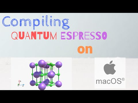 Compiling Quantum ESPRESSO for parallel execution on Mac OS