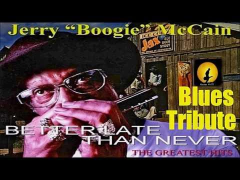 Jerry 'Boogie' McCain - Blues Tribute (Kostas A~171)