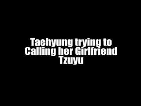 BTS Taehyung and TWICE Tzuyu Video Call - TaeTzu