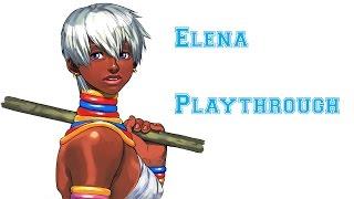 Street Fighter III: 3rd Strike - Elena Playthrough