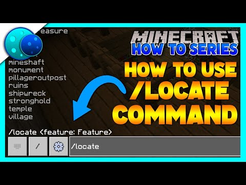 How To Use /Locate Effectively! On Minecraft Bedrock Edition!