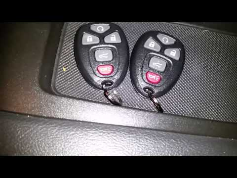 2008 GMC Yukon Keyless Remote Programing