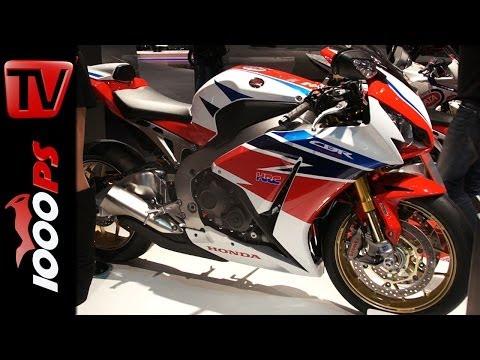 Honda CBR1000RR SP 2014  Details & Informations @EICMA 2013