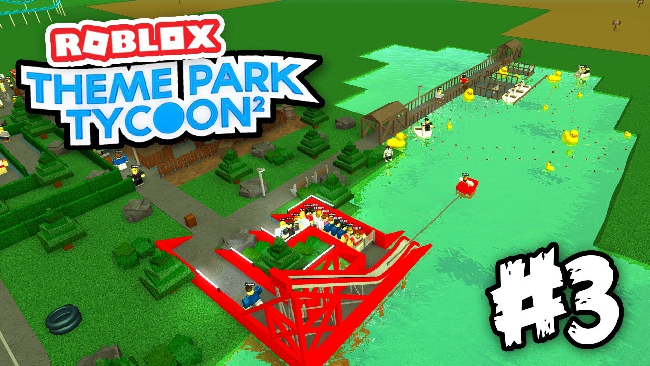 Building Epic Water Rides Roblox Theme Park Tycoon 2 3 Youtube