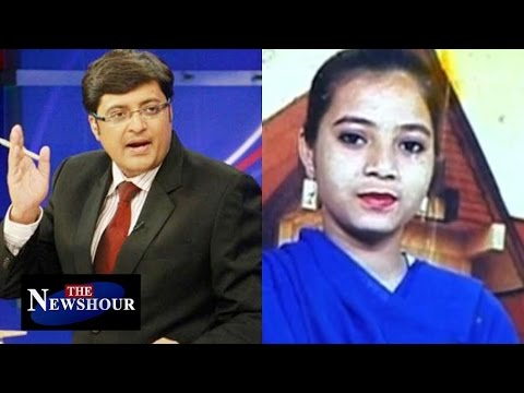 """What Was """"Innocent"""" Ishrat Doing With 2 Pak LeT Terrorists? : The Newshour Debate (25th Feb 2016)"""