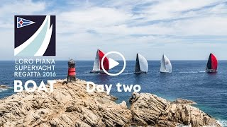 Race Day Two at the Loro Piana Superyacht Regatta 2016