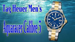 TAG HEUER AQUARACER Calibre 5 Stainless & Gold