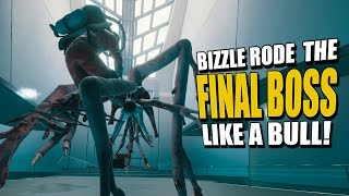 BIZZLE RODE THE FINAL BOSS LIKE A BULL! (The Forest Co-Op Survival) #8