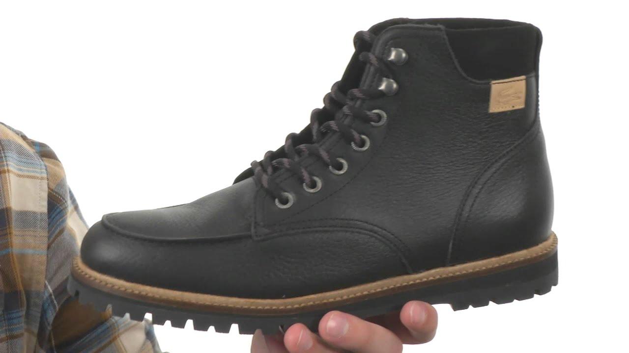 design intemporel f3952 5bdb3 Lacoste Montbard Boot 2 SKU:8616586