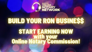 MAKE MONEY NOW wİth your Online Notary Commission - Build your Online Notarization Busine$$
