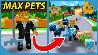 I Got Max Pets and Become Overpowered in Roblox Farm Simulator
