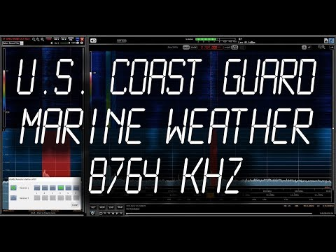 U.S. COAST GUARD - Chesapeake (NMN) Weather Marine Forecast - 8764 kHz